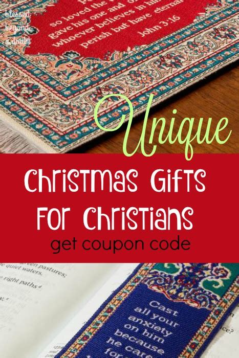 unique christmas gifts for christians and giveaway