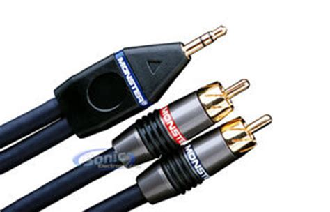 Rca Cable Interlink Mkii 1 cable stereo rca to 1 8 quot mini cable ip400 75m