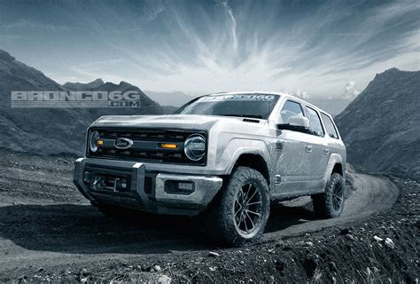 2020 Ford Bronco Look by Rendering 2020 Ford Bronco Four Door Suv Looks Ready To