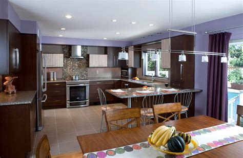 Pics Of Kitchen Designs Zebra Wood Kitchen Wooden Cabinets Syosset Island