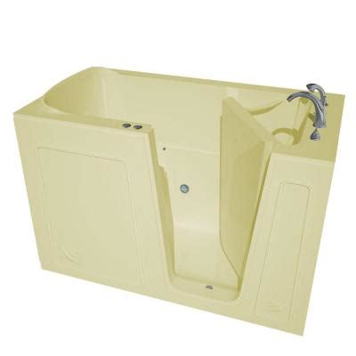heated jacuzzi bathtub universal tubs nova heated 5 ft walk in air jetted tub in biscuit with chrome trim