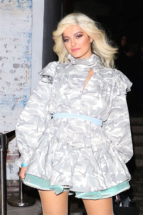 New York Fashion Week Marc Backwards Show by Bebe Rexha Arrives At Marc Fashion Show At New York