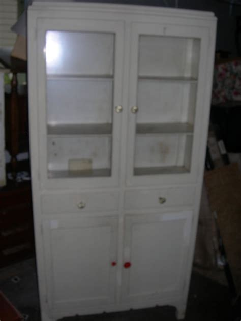 kitchen cabinets ebay antique vintage h j scheirich white kitchen cabinet pantry