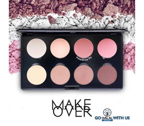 Harga Makeover Professional Highlight Contour Palette halal cosmetics singapore makeover professional