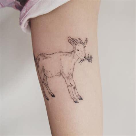 goat tattoo designs goat toronto jess chen