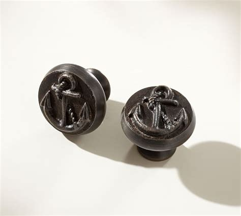 pottery barn cabinet hardware anchor knob pottery barn