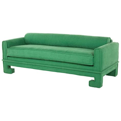 green velvet sofa ikea chinoiserie chic green velvet sofa high low and inspiration