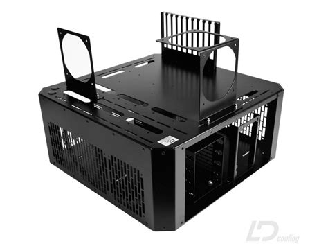pc bench case ld pc v4 bench table black ld cooling computer cases