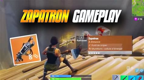 fortnite zapatron sniper rarest weapon zapatron sniper fortnite battle