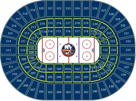 Nassau Coliseum Floor Plan by Nassau Coliseum Seating