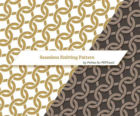 tutorial vector pattern create a vector intertwining knitting pattern