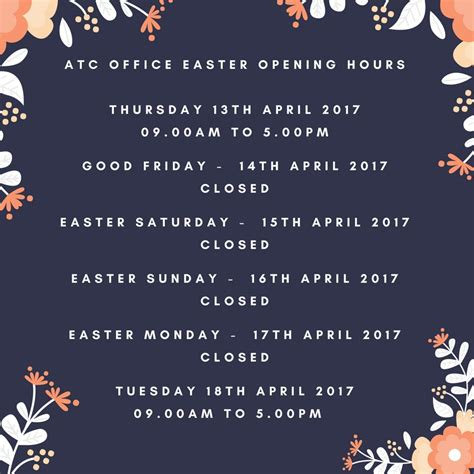 Office Depot Hours Easter Atc Office Easter Opening Hours Amersham Town Council