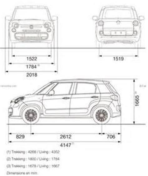 Dimensions of Fiat 500L   Gobebaba