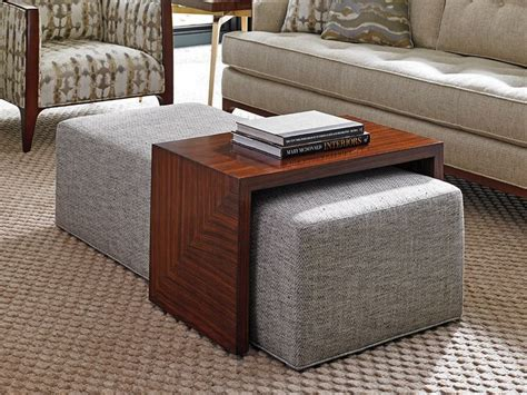 how to use ottoman as coffee table best 20 ottoman coffee tables ideas on