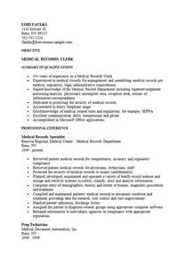 Clerical Resume Objectives by File Clerk Resume Sle Best Business Template
