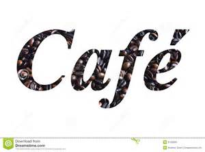 cafe script stock photos image 6143593