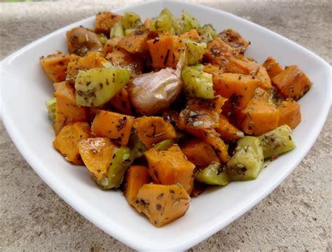 cuisine patate douce salade de patate douce et courgettes blogs de cuisine