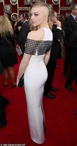 game of thrones armpit shaving sag awards 2014 amy adams jennifer lawrence and lupita