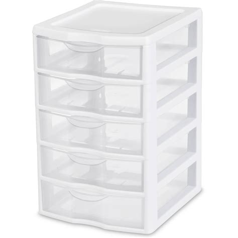 4 drawer plastic storage unit white small 5 drawer box pack of 4 storage cabinet plastic