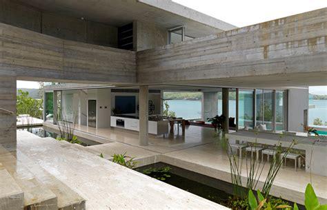 persianas hamilton casa em concreto e vidro pelo arquiteto renato d ettorre
