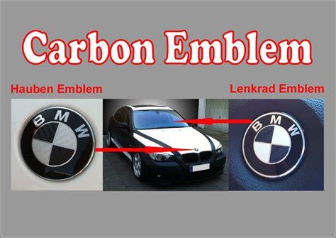 Bmw Emblem Carbon Aufkleber by Aufkleber Carbon Embleme