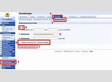 E-Mail Weiterleitung am Beispiel web.de | Allgemein | 2017 ... Freemail Posteingang