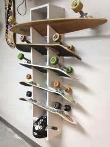 10 best ideas about skateboard rack on