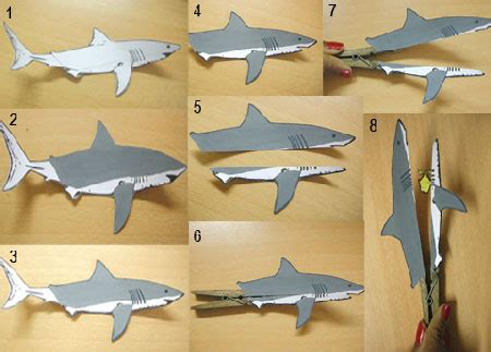 card board shark template 17 best photos of clothespin arts and crafts shark