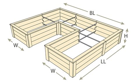 natural cedar  shaped raised garden beds eartheasycom