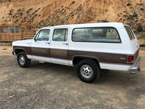 1978 chevy 3 4 ton 4x4 truck 1978 chevy 3 4 ton 4x4 suburban 1 owner 50k original miles