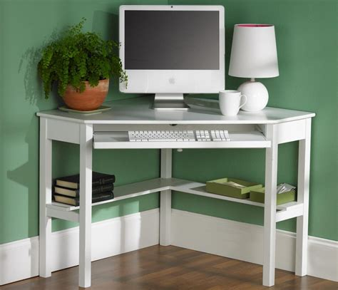 12 Space Saving Designs Using Small Corner Desks Small Corner Desk Ideas