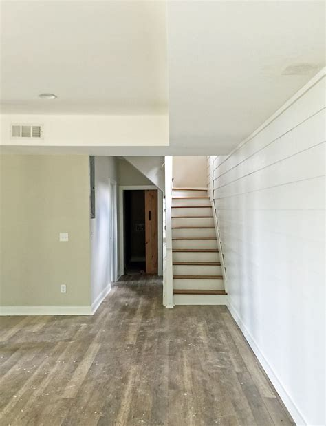 Kitchens With Open Shelving Ideas how to shiplap wall and open pipe shelves 62 addison s