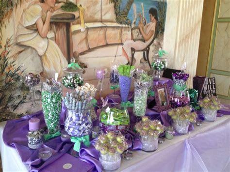lavender and mint wedding buffet wedding mo pinterest