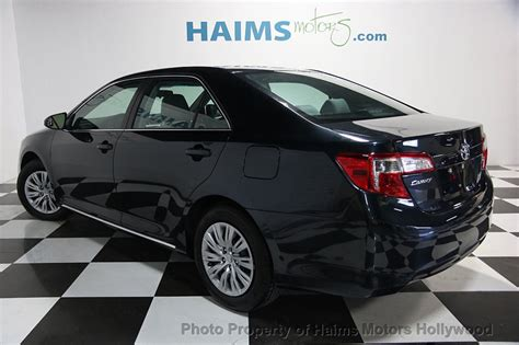how petrol cars work 1996 toyota camry lane departure warning 2014 used toyota camry 2014 5 4dr sedan i4 automatic le at haims motors hollywood serving fort