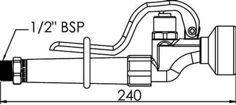 Kran Wastafel Delay Showy Self Closing Delay Basin Tap 2684n enware trigger spray fs729 waterways