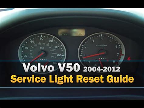 service tool new reset v50 volvo v50 service light reset 2004 2012 youtube