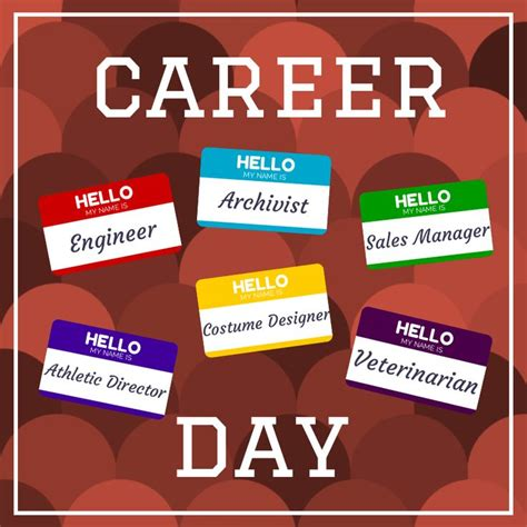 Career Advising Post Mba by Career Day Themes 100 Best Career Day Ideas Images On