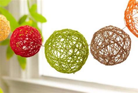 decorative raffia balls 40 home decor diy projects for summer
