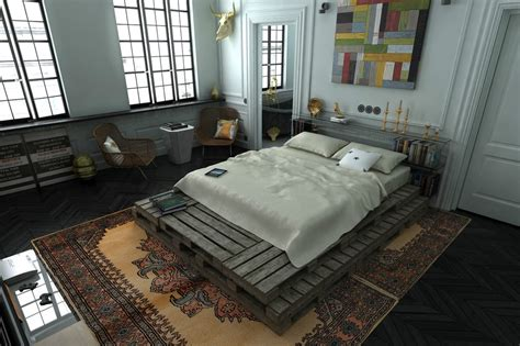 loft bedroom 3 distinctly themed apartments under 800 square feet with
