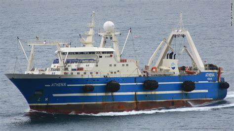 reel fire boat rescued fishing boat crew back in uk cnn