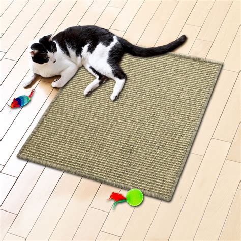 Cat Scratch Mats by Cat Scratch Mats Olive 3 Sizes Available