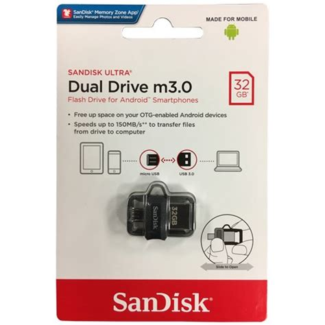 Sandisk Ultra Dual Drive M3 0 32gb sandisk ultra 32gb dual drive m3 0 for android devices and