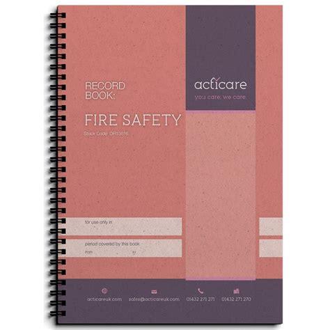 Osha Records Safety Record Book