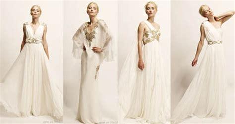 vanidad en griego moda para novias el look griego