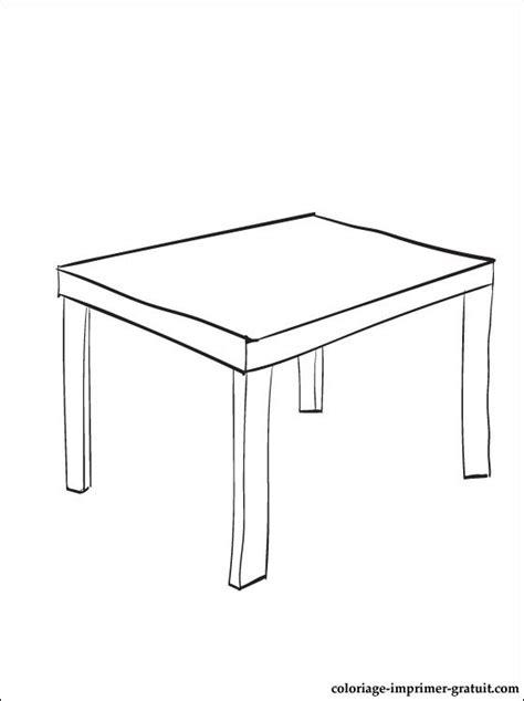 coloriage table  imprimer coloriage  imprimer gratuit