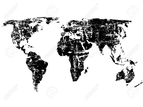 World map wallpaper black and white dyrevelferdfo download world map wallpaper black and white gallery gumiabroncs Choice Image