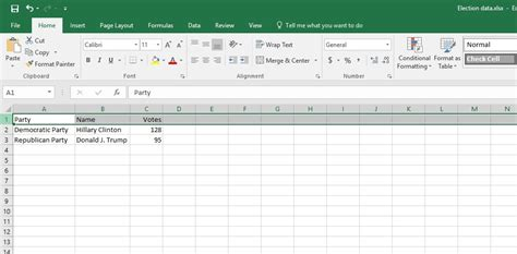 Live Spreadsheet by How To Display Live Election Results In Powerpoint