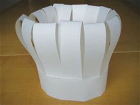 How To Make A Toque With Paper - 1000 ideas about chef hats on aprons apron