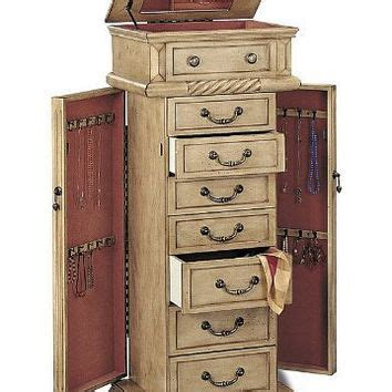 jewelry armoire antique white jewelry armoire in antique white finish from amazon jewelry