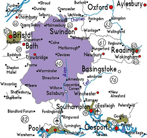 map uk wiltshire map of wiltshire in useful information about